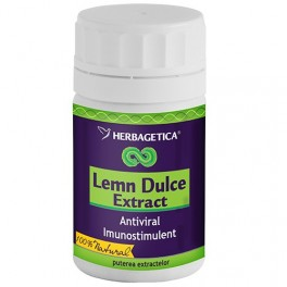 extract lemn dulce 80cps herbagetica
